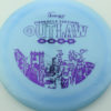 Outlaw - light-blue - pinnacle - purple - 304 - 174g - 176-0g - somewhat-flat - somewhat-stiff