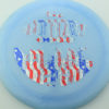 Outlaw - light-blue - pinnacle - flag - 304 - 174g - 174-8g - somewhat-flat - somewhat-stiff