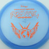 Rival - New Pinnacle Blend - blue - pinnacle - bronze-dots-and-stars - 304 - 175g - 175-8g - somewhat-flat - somewhat-stiff