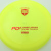 PD2 - yellow - c-line - red - 304 - 173-175g-2 - 176-1g - somewhat-domey - somewhat-stiff