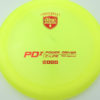 PD2 - yellow - c-line - red - 304 - 173-175g-2 - 175-6g - somewhat-domey - somewhat-stiff