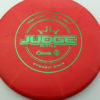 Judge - Burst - classic - green - 304 - 173g - 173-1g - pretty-flat - pretty-stiff