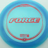 Force - blue - z-line - red-fracture - 304 - 173-175g - 174-9g - neutral - pretty-stiff