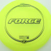 Force - yellow - z-line - black - 304 - 173-175g - 174-3g - somewhat-domey - pretty-stiff