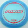 Force - blue - z-line - red-fracture - 304 - 173-175g - 175-4g - neutral - pretty-stiff