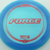 Force - blue - z-line - red-fracture - 304 - 173-175g - 175-9g - neutral - pretty-stiff