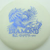 Diamond - white - opto - dark-blue - 159g - 160-0g - somewhat-domey - somewhat-gummy