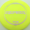 Raptor - yellow - z-line - purple-squares - 304 - 173-175g - 174-5g - somewhat-flat - somewhat-stiff