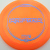 Raptor - orange - z-line - blue-mini-dots-and-stars - 304 - 170-172g - 172-1g - somewhat-flat - somewhat-stiff