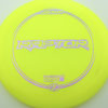 Raptor - yellow - z-line - purple-squares - 304 - 170-172g - 173-6g - somewhat-flat - somewhat-stiff