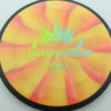 DGPT Relay - Cosmic Neutron - blue-green-fade - 172g - 172-2g - somewhat-flat - neutral