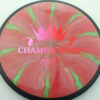 DGPT Relay - Cosmic Neutron - red-purple-fade - 172g - 172-5g - somewhat-flat - somewhat-stiff