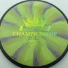 DGPT Relay - Cosmic Neutron - yellow-green-fade - 172g - 173-1g - somewhat-flat - neutral