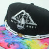 OTB Tie Dye Hat - Findlay - black - white