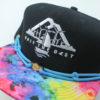 OTB Tie Dye Hat - Findlay - black - neon-blue