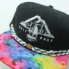 OTB Tie Dye Hat - Findlay - black - white-black-stripes