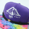 OTB Tie Dye Hat - Findlay - purple - black