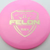 Felon - pink - fuzion - gold - 304 - 174g - 175-1g - somewhat-flat - neutral