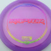 Raptor - purple - z-line - rainbow-fracture - 304 - 170-172g - 173-5g - neutral - pretty-stiff