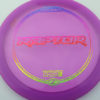 Raptor - purple - z-line - rainbow-fracture - 304 - 170-172g - 173-0 - somewhat-flat - pretty-stiff