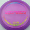 Raptor - purple - z-line - rainbow-fracture - 304 - 170-172g - 172-8g - somewhat-flat - somewhat-stiff