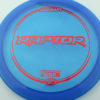 Raptor - blue - z-line - red-squares - 304 - 170-172g - 173-5g - somewhat-flat - pretty-stiff