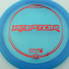 Raptor - blue - z-line - red-squares - 304 - 173-175g - 173-9g - somewhat-flat - pretty-stiff