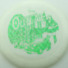 Outlaw - 1st Run Pinnacle - white - green-fracture - 173g - 173-8g - somewhat-flat - neutral