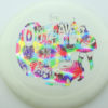 Outlaw - 1st Run Pinnacle - white - rainbow-jelly-bean - 173g - 174-1g - somewhat-flat - neutral