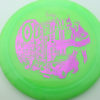Outlaw - 1st Run Pinnacle - green - fuchsia - 174g - 174-8g - neutral - somewhat-gummy