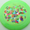 Outlaw - 1st Run Pinnacle - green - rainbow-jelly-bean - 174g - 174-7g - neutral - neutral