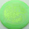 Outlaw - 1st Run Pinnacle - green - green - 174g - 174-4g - somewhat-flat - neutral