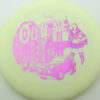 Outlaw - 1st Run Pinnacle - light-yellow - fuchsia - 168g - 168-2g - somewhat-flat - neutral