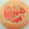 Outlaw - 1st Run Pinnacle - pinkorange - red - 174g - 175-1g - somewhat-flat - somewhat-gummy