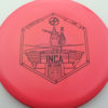 Infinite Discs Inca - pink - i-blend - black - 180g - 178-1g - somewhat-flat - somewhat-stiff