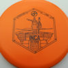 Infinite Discs Inca - orange - i-blend - black - 180g - 178-7g - neutral - somewhat-stiff