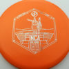 Infinite Discs Inca - orange - i-blend - silver - 180g - 179-1g - neutral - somewhat-stiff