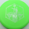 Infinite Discs Inca - green - i-blend - silver - 180g - 178-6g - somewhat-flat - somewhat-stiff