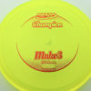 Mako3 - yellow - champion - red - 180g - 181-0g - somewhat-domey - neutral