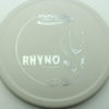 Rhyno - white - dx - silver - 304 - 175g - 175-3g - somewhat-flat - pretty-stiff