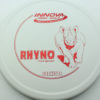 Rhyno - white - dx - red - 304 - 175g - 173-4g - somewhat-flat - pretty-stiff