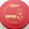 Rhyno - red - dx - gold - 304 - 175g - 173-6g - pretty-flat - pretty-stiff