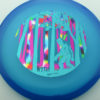 Infinite Discs Myth - blue - c-blend - teal - pastel-party-time - pink - 173-175g-2 - 176-7g - pretty-flat - somewhat-stiff