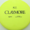 Claymore - yellow - opto - black - 174g - 174-9g - neutral - neutral