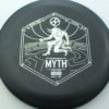 Infinite Discs Myth - black - d-blend - silver - 304 - 1194 - 172g - 171-6g - somewhat-puddle-top - pretty-stiff