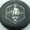Infinite Discs Myth - black - d-blend - silver - 304 - 1194 - 172g - 172-3g - somewhat-puddle-top - pretty-stiff