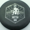 Infinite Discs Myth - black - d-blend - silver - 304 - 1194 - 170g - 170-9g - somewhat-puddle-top - pretty-stiff