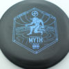 Infinite Discs Myth - black - d-blend - blue - 304 - 1194 - 172g - 172-8g - somewhat-puddle-top - pretty-stiff