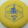 Infinite Discs Myth - yellow - x-blend - blue - 304 - 1194 - 175g - 174-6g - somewhat-puddle-top - somewhat-stiff