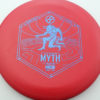 Infinite Discs Myth - red - d-blend - blue - 304 - 1194 - 172g - 172-7g - somewhat-puddle-top - pretty-stiff